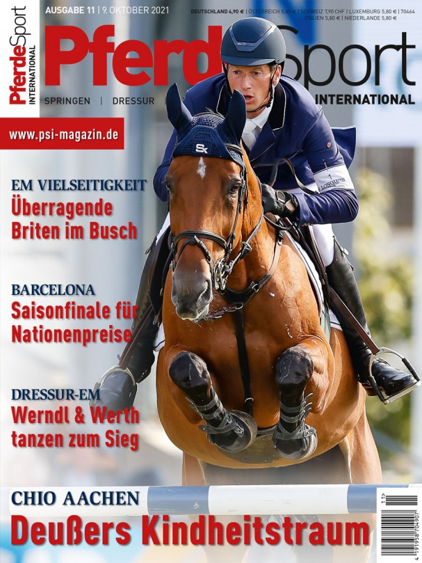 E-PAPER - PferdeSport International 2021/11