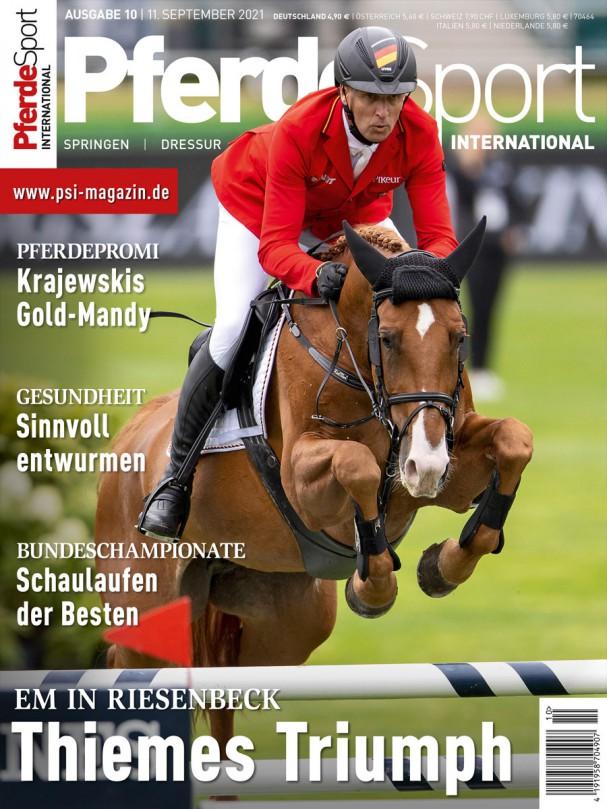 E-PAPER - PferdeSport International 2021/10